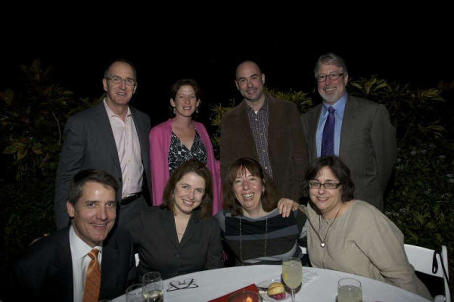 AT THE TALA GALA: Top row, from left: Sam Lasseter, Claire Smith, Dillon Kyle, Denby Auble; bottom, from left, Russell Murrell, Kerry Inman, Alison de Lima Greene and Amy Blakemore. Photo: Everett Taasevigen Photography