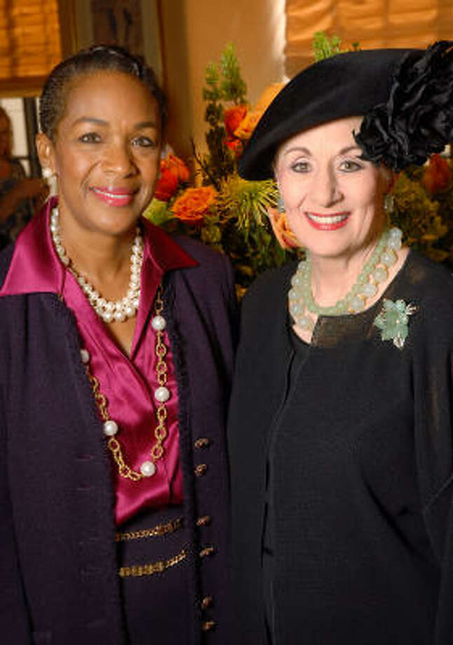 Suzette Caldwell, left, and Martha Turner Photo: Dave Rossman, For The Chronicle