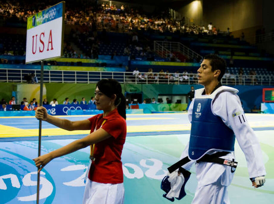Steven Lopez of Sugar Land settled for a controversial bronze medal in Beijing but looks for a World Championship a year later. Photo: Smiley N. Pool, Houston Chronicle