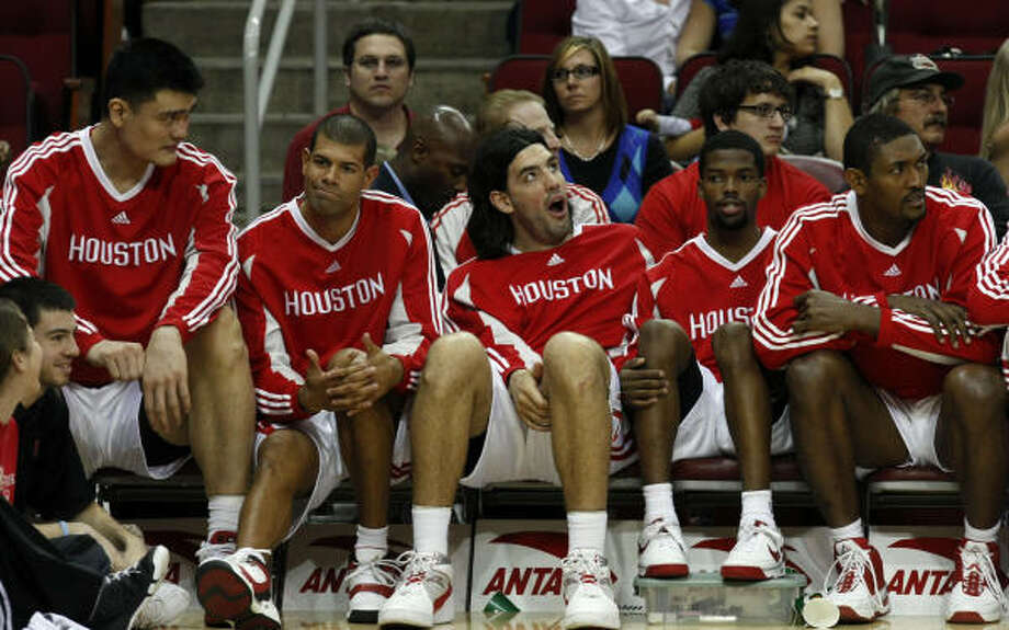 The Rockets starters can't afford to get complacent against a pair of teams with a combined 37-110 record. Photo: Johnny Hanson, Chronicle