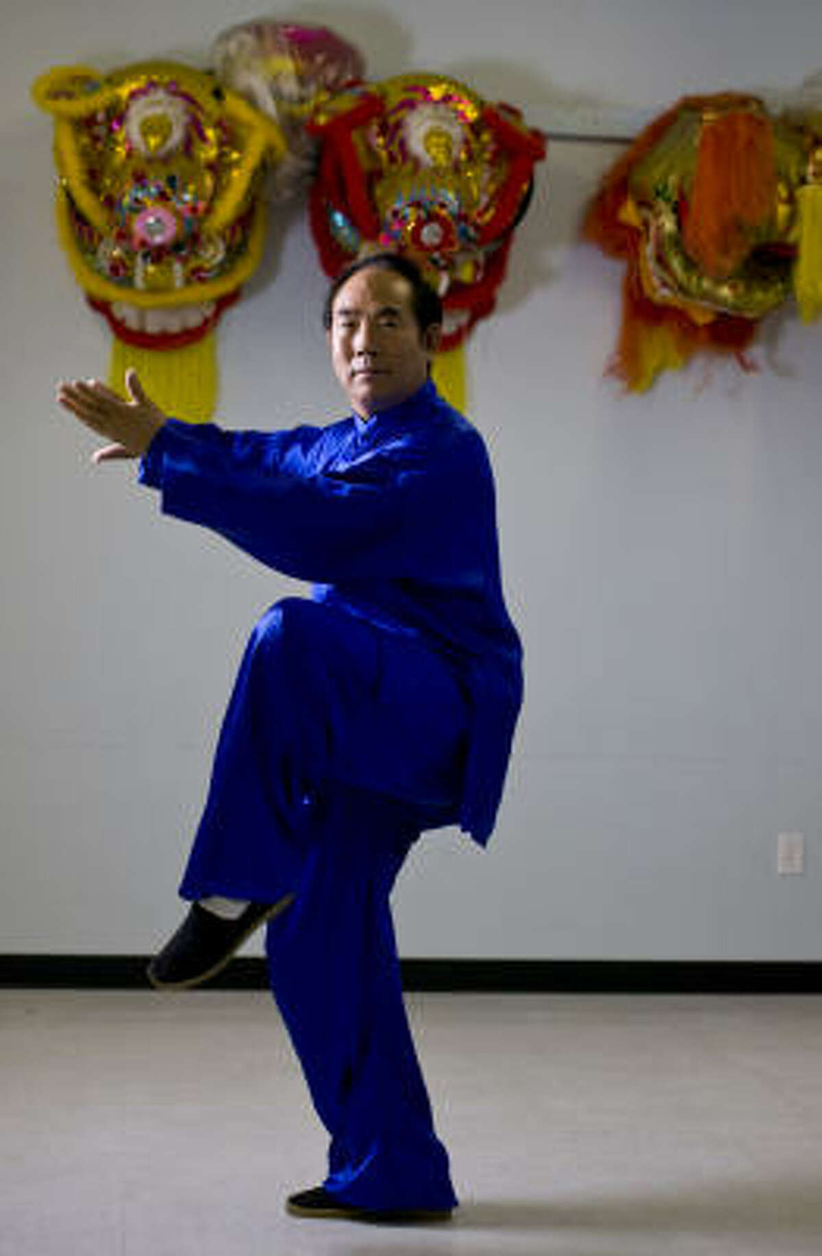 After leasing at another site for 15 years, Jincai Cheng, owner of Chen Style Tai Chi Development Center, bought space in Sterling Plaza a year ago.