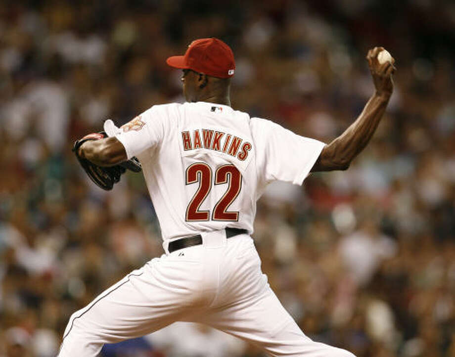 LaTroy Hawkins feels young at 36 and ready to give a rejuvenated career another five or six years. Photo: Karen Warren, Houston Chronicle
