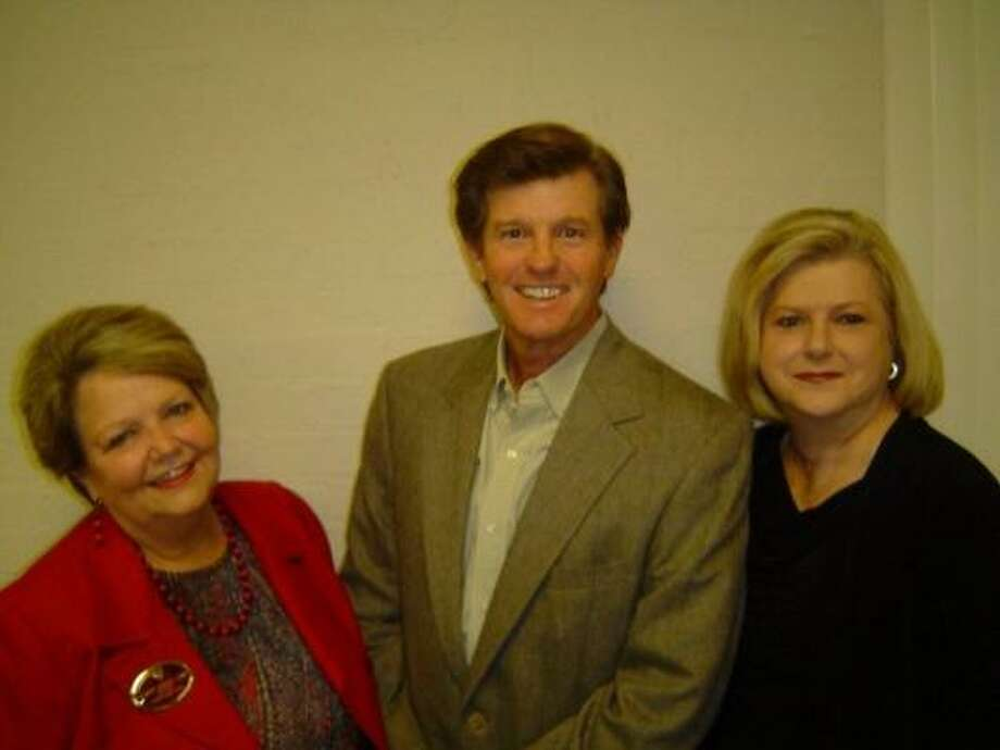COMBINED STRENGTH: (Left to right) Karen Little, Buzzy Knapp and Marilyn Wier of RE/MAX Space Center.