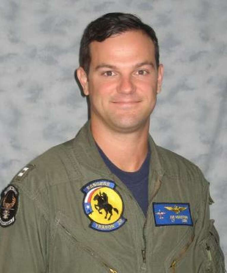 The Navy will have a private service for Lt. John Joseph Houston's loved ones on Friday. Photo: Navy