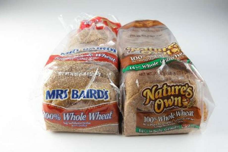 Mrs. Baird's and Nature's Own are the all-around winners for customers looking for healthful bread. Photo: MELISSA PHILLIP, Chronicle