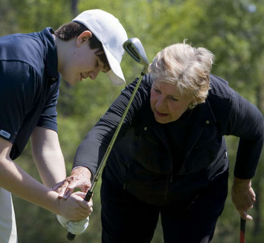 Hall of Fame golfer Carol Mann is raising money for the Women's Home and is bringing LPGA legends to the Gary Player Course at The Woodlands to help her. Photo: James Nielsen, Chronicle