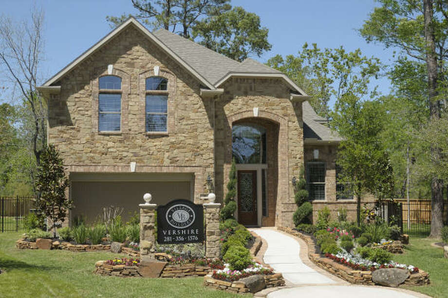 NEW NEIGHBORHOOD: Village Builders presents the Brentwood in the neighborhood of Vershire in the 400-acre area of May Valley in The Woodlands' Village of Sterling Ridge. This two-story home has 2,991 square feet, four bedrooms, formal dining room, study, upstairs game room, rear covered patio, 3½ baths and a two-car attached garage. The home is priced from $301,900.