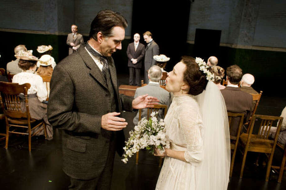 The Alley Theatre's season-opening production is Thornton Wilder's classic American play Our Town. Photo: Eric Kayne :, For The Chronicle
