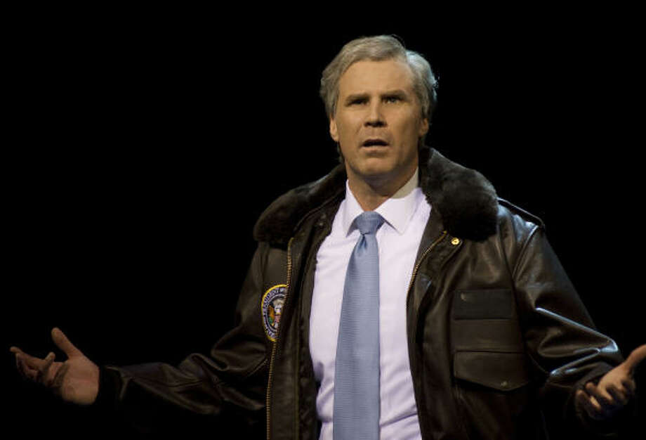 Will Ferrell stars in You're Welcome America. A Final Night with George W. Bush, which will be broadcast on HBO.  Photo: PHILLIP V. CARUSO, HBO | MCT