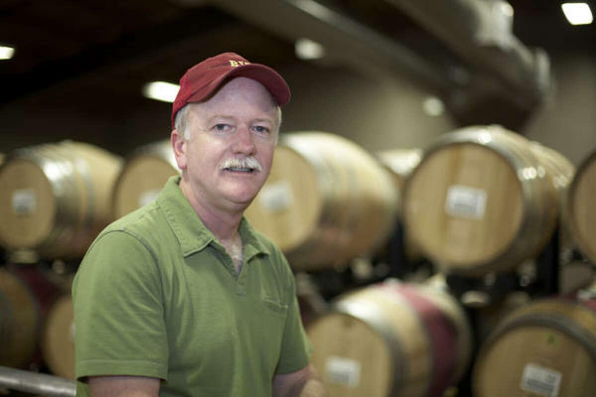 Joel Aiken is the winemaker for Beaulieu Vineyards' Georges de Latour Cabernet Sauvignon.