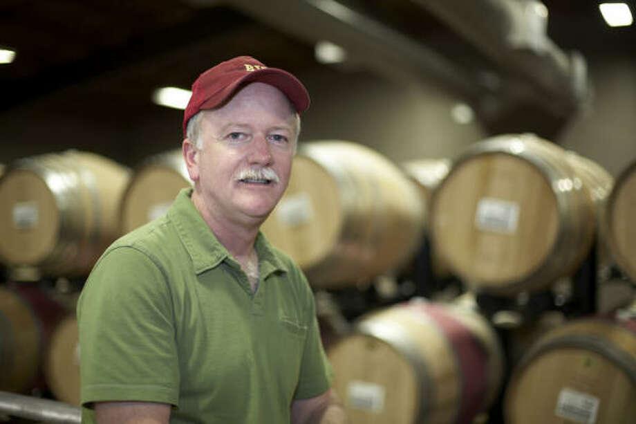 Joel Aiken is the winemaker for Beaulieu Vineyards' Georges de Latour Cabernet Sauvignon. Photo: Courtesy Photo