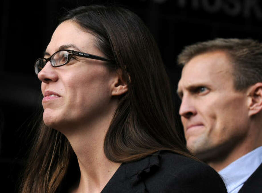 Laura Pendergest-Holt Pendergest-Holt is  charged with the crime of obstructing justice. Photo: Pat Sullivan, AP