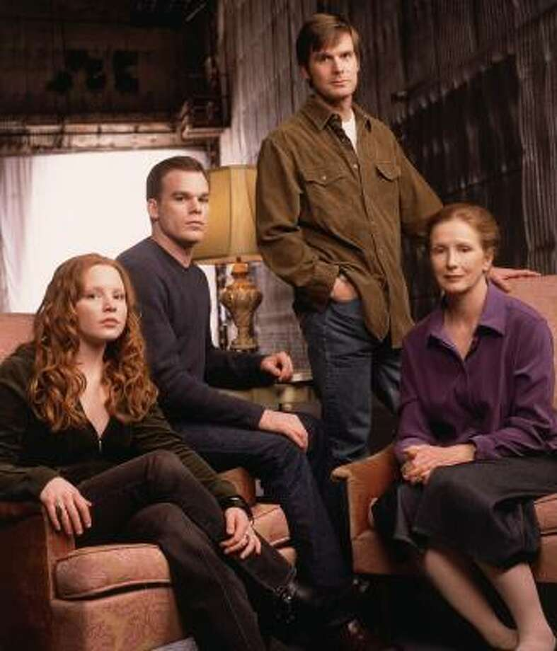 HBO's Six Feet Under ran for five seasons and starred Lauren Ambrose, from left, Michael C. Hall, Peter Krause and Frances Conroy. Photo: Art Streiber, HBO