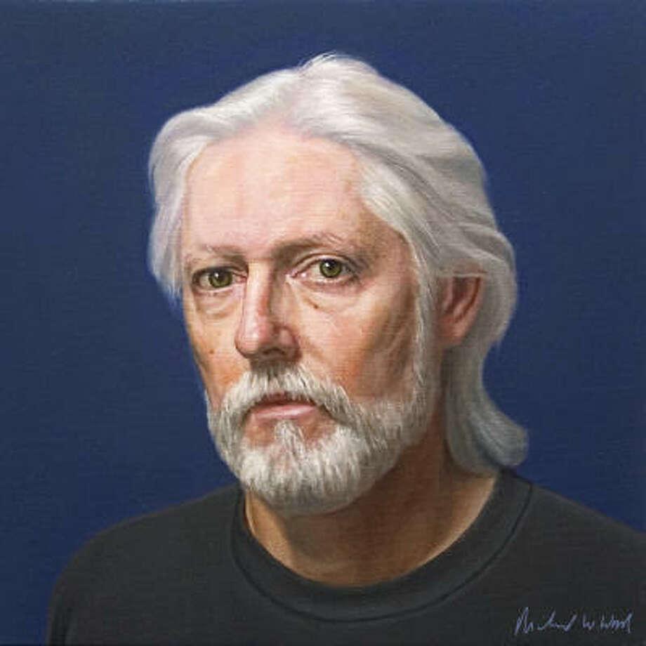 Richard Wood created this self portrait in 2004. Photo: Photo Courtesy Of JayDee Wilkins