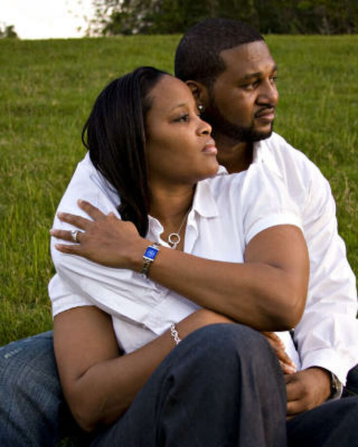 Travis Thompson was to marry his fiancee, Stacy Bluitt. Photo: Family Photo
