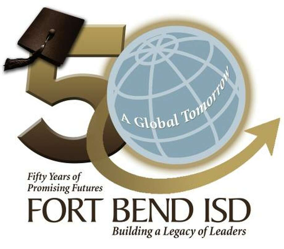 Fort Bend Independent School District had this logo designed for its 50th anniversary.