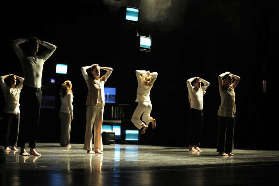 Jane Weiner's Hope Stone Dance Company is among the featured troupes on Program A of the Big Range Dance Festival. This first concert of three weekends of dance at Barnevelder Movement Arts, 2201 Preston, is at 8 p.m. Friday and Saturday. Photo: Simon Gentry