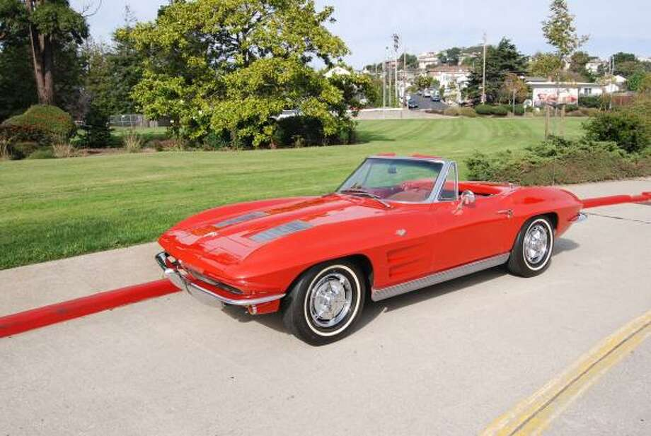 This 1963 Corvette is still in the possession of its original owner, who received the new car as a graduation present. His father paid $4,598 for the 'Vette, which is powered by a 327-cubic-inch V-8.