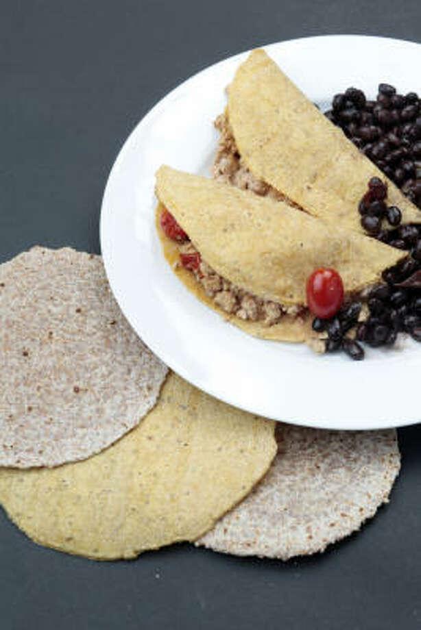 Soft Chicken Tacos With Smoked Paprika Sour Cream Photo: DANYA SMITH :, WASHINGTON POST
