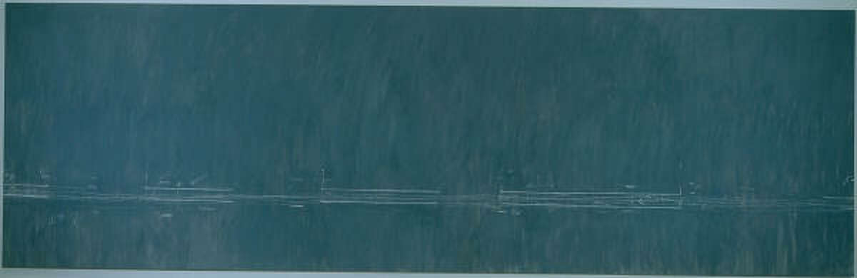 CY TWOMBLY: Treatise on the Veil (Second Version), 1970