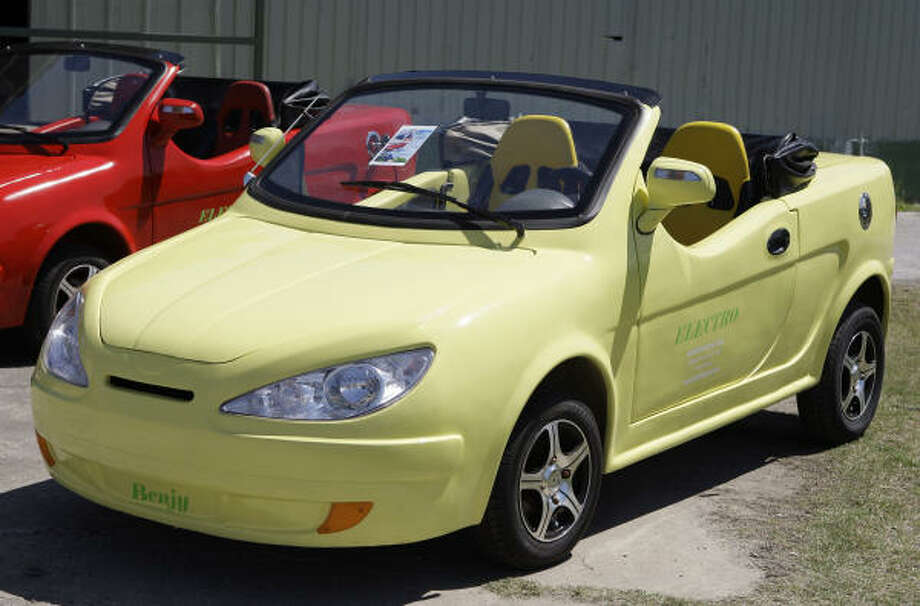 The Benjy Electro Is A Convertible Version Of Jinan Flybo Motor Co