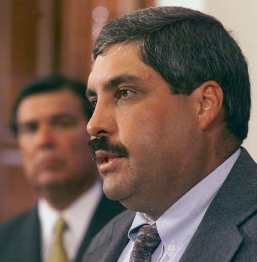 Amadeo Saenz Jr. says public outcry has convinced the Texas Department of Transportation to drop the Trans-Texas Corridor plan and adopt a more user-friendly approach. Photo: AP