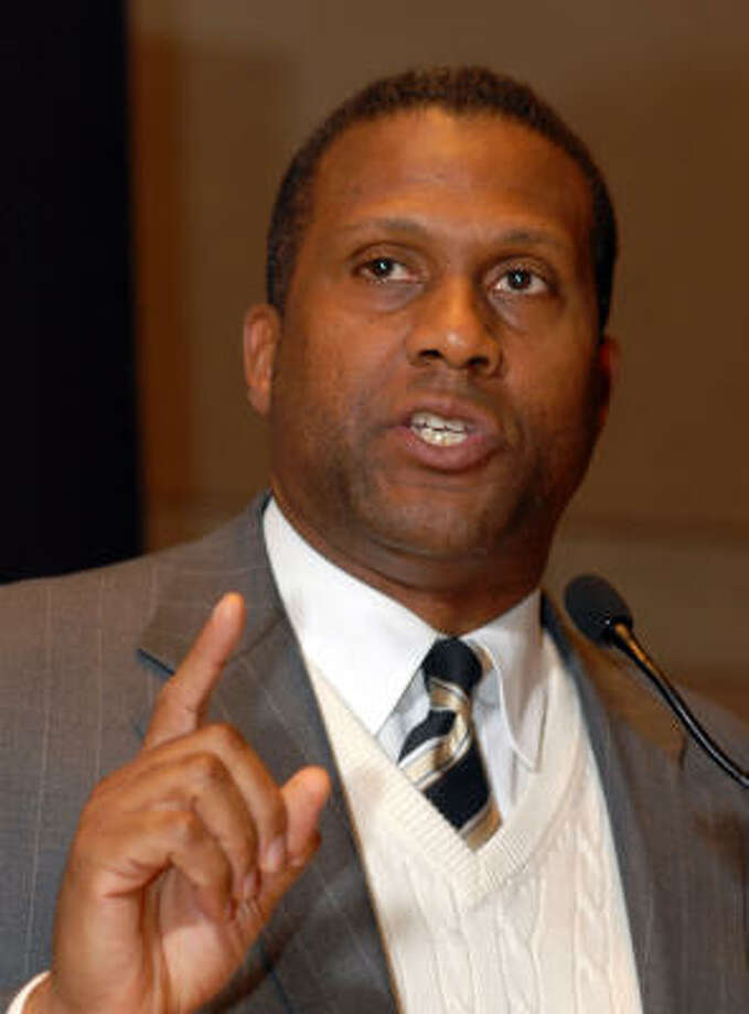 Tavis Smiley will speak at the Ensemble Theater. Photo: William Thomas Cain, Getty Images
