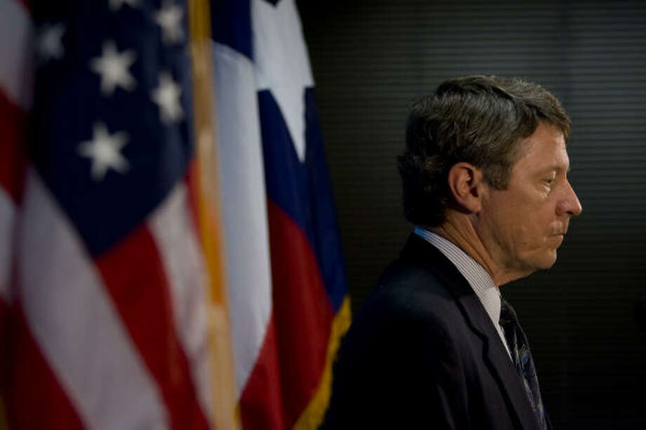 Harris County Judge Ed Emmett said he believes members of the county Juvenile Board will vote to immediately suspend Executive Director Harvey Hetzel and Bob Husbands, the agency's director of facilities, at an emergency meeting Tuesday. Photo: Johnny Hanson, Chronicle