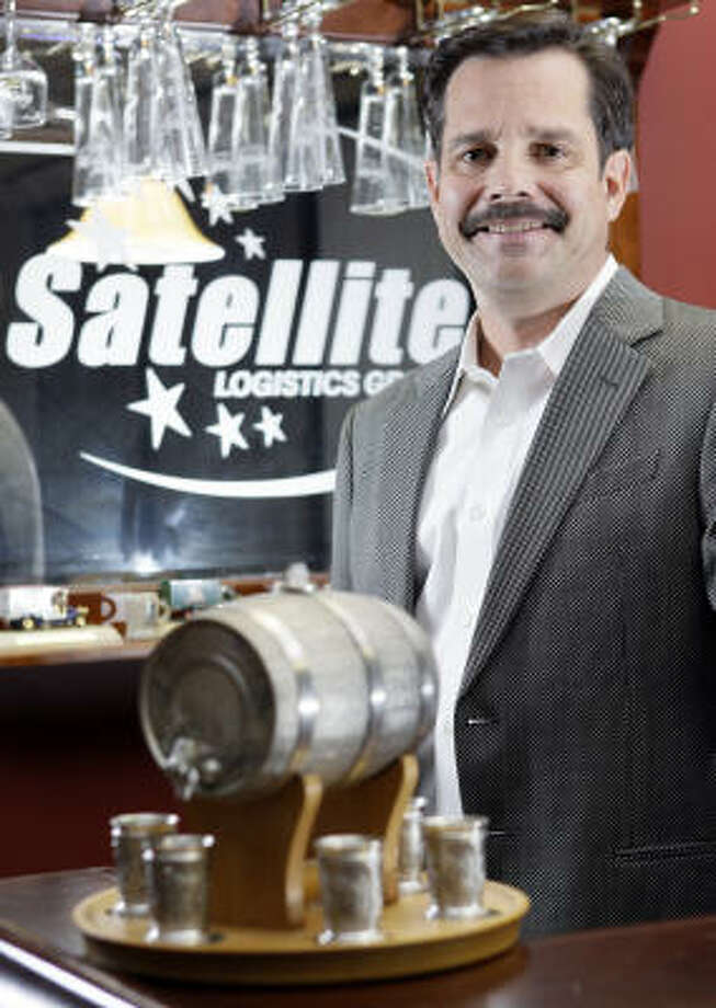 In 1994, Satellite Logistics Group launched its retrieval system that collects empty kegs from distributors and returns them to the brewer. Kevin Brady is the owner. Photo: Melissa Phillip:, Chronicle