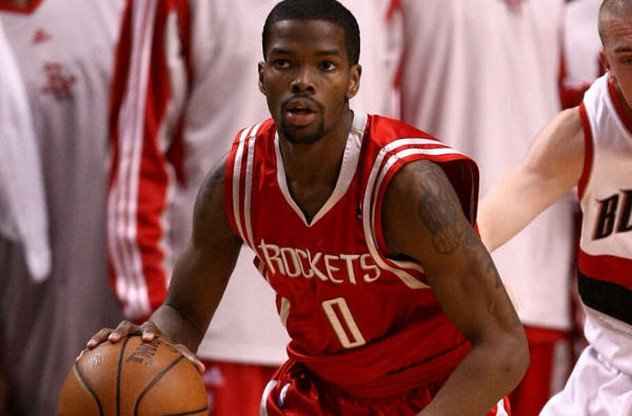 Rockets general manager Daryl Morey believes point guard Aaron Brooks is a big part of the team's future. Photo: Jonathan Ferrey, Getty Images