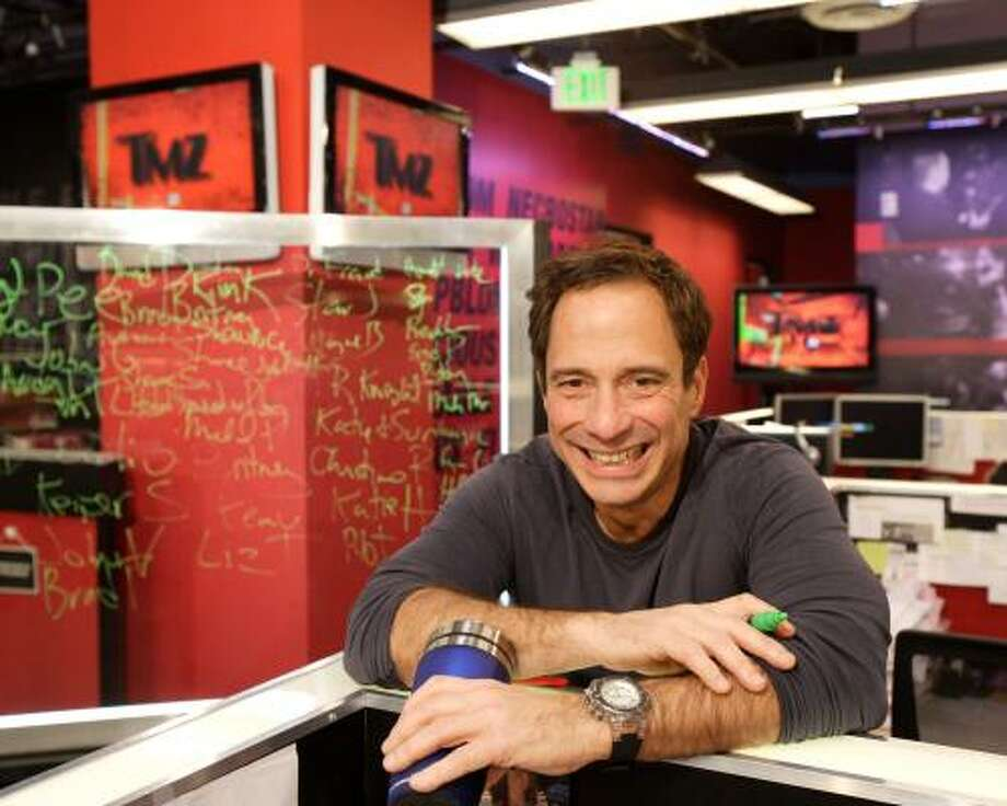 Harvey Levin, the brains behind the entertainment Web site TMZ.com, credits his site's success to its ability to move quickly and efficiently to keep up with the digital consumer. Photo: Craig Mathew, Mathew Imaging