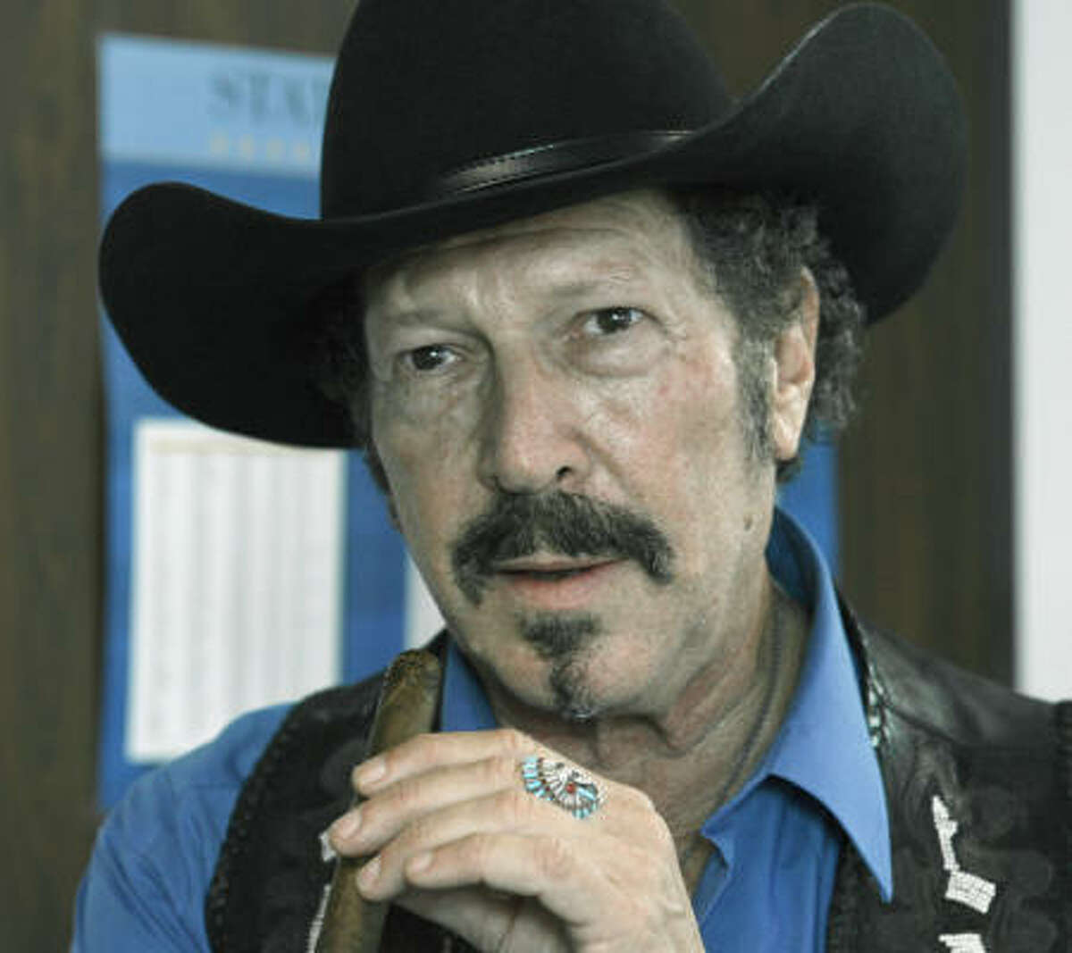 Kinky Friedman says he's running for governor, this time as a Democrat.