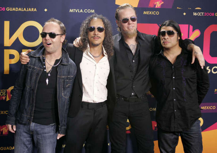 "Metallica allowed its music to be on the documentary about the West Memphis Three ""Paradise Lost."" Photo: Miguel Tovar, Associated Press"