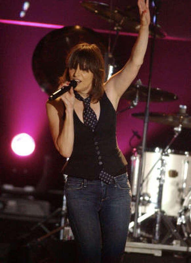 Chrissie Hynde has been the one constant for the Pretenders Photo: EDDIE MALLUK, AP