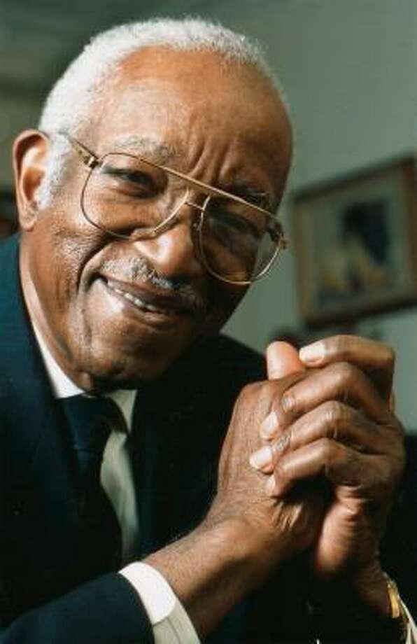 John Hope Franklin's legacy helped open doors for other scholars in black studies. Photo: Duke University