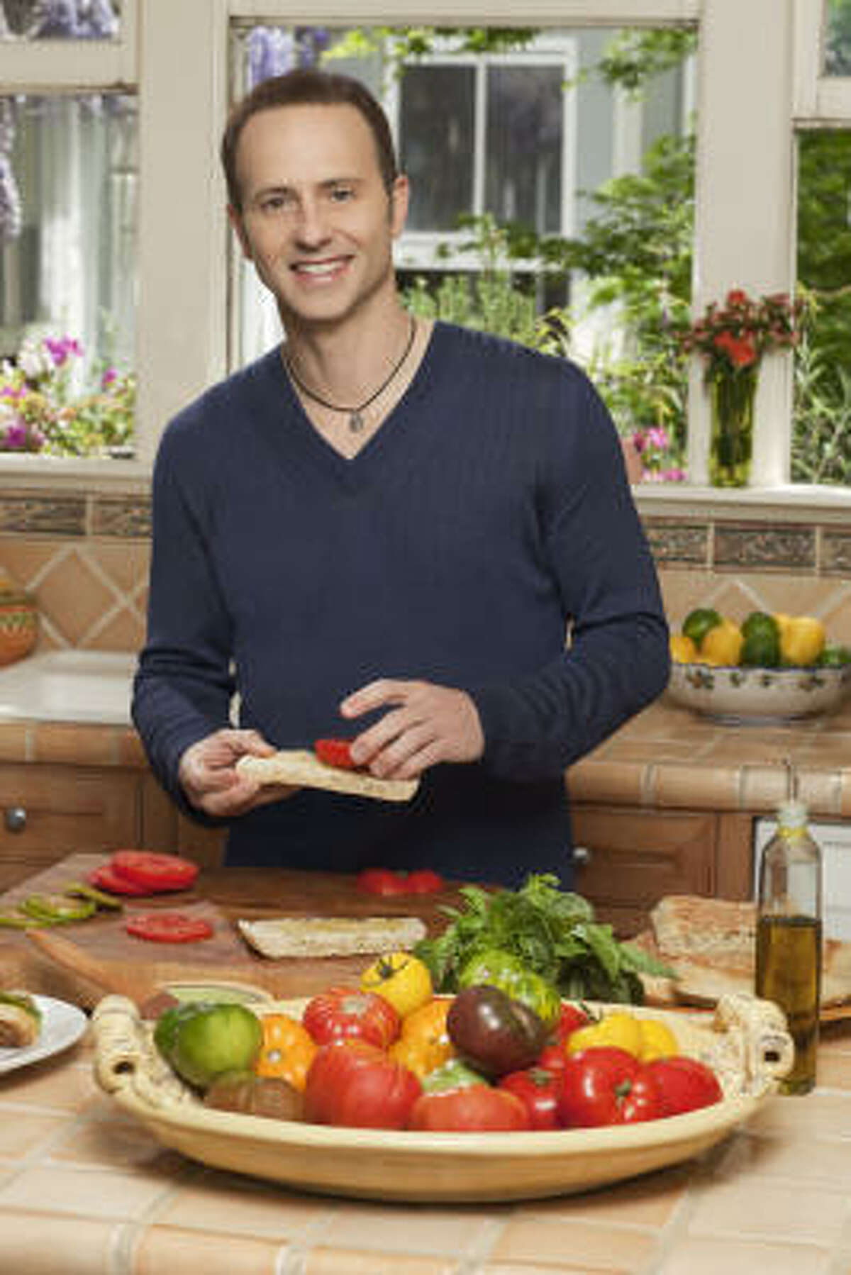 Brian Boitano stars in a new Food Network series, What Would Brian Boitano Make?