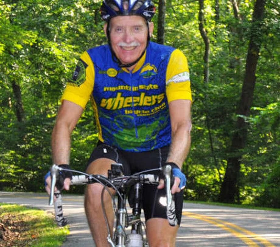 Gene Teaney's resting pulse rate is 50 beats a minute. Photo: John McCoy, Charleston Gazette
