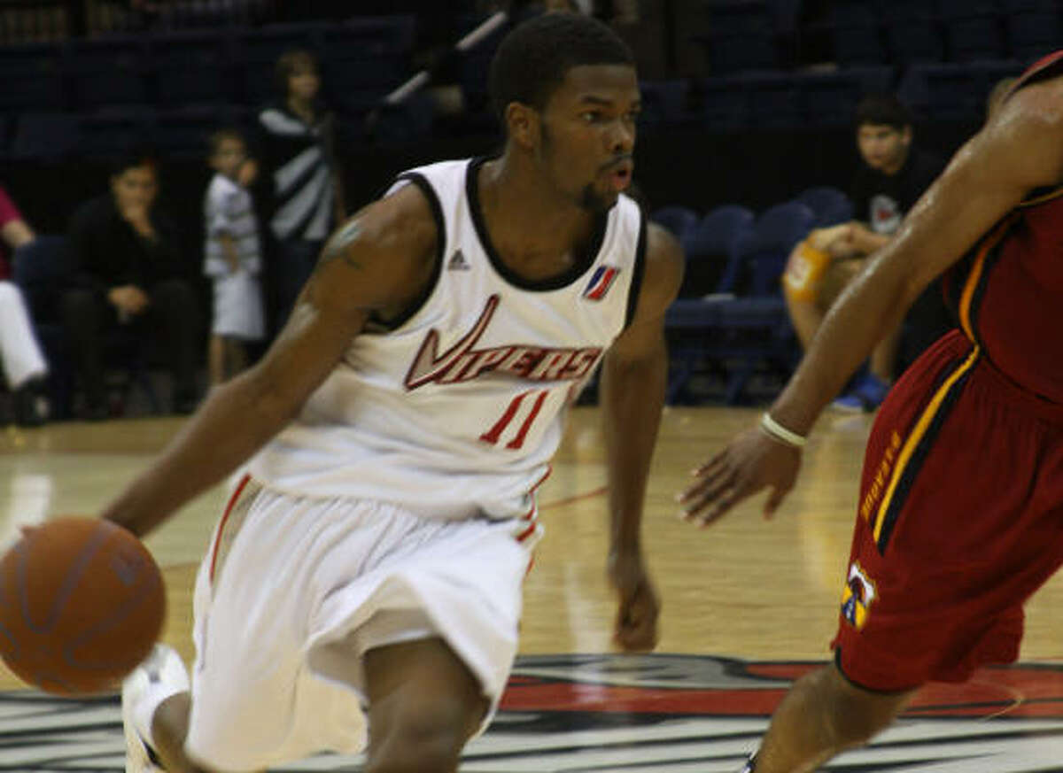Aaron Brooks gained experience playing with the Vipers, who are now under the Rockets' control.