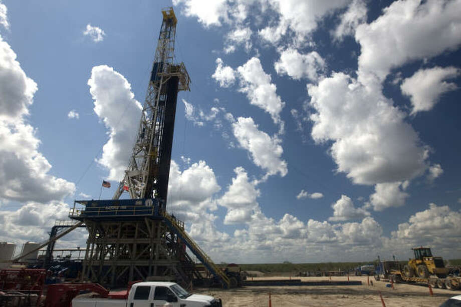 Houston-based Petrohawk Energy is drilling in South Texas' McMullen County. Photo: Jake Lacey, For The Chronicle