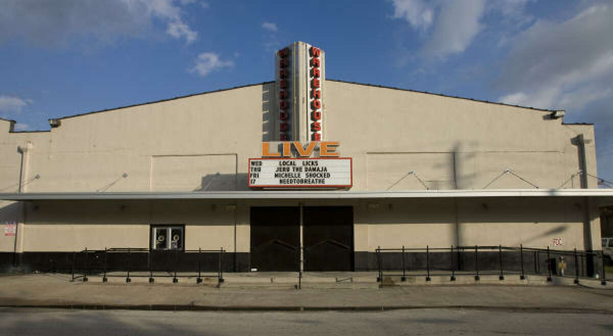 """Entertainment: Warehouse Live, while quiet during the day, livens up at night. It's on St. Emanuel Street. """"Saint E"""" was even suggested for the area's new name."""
