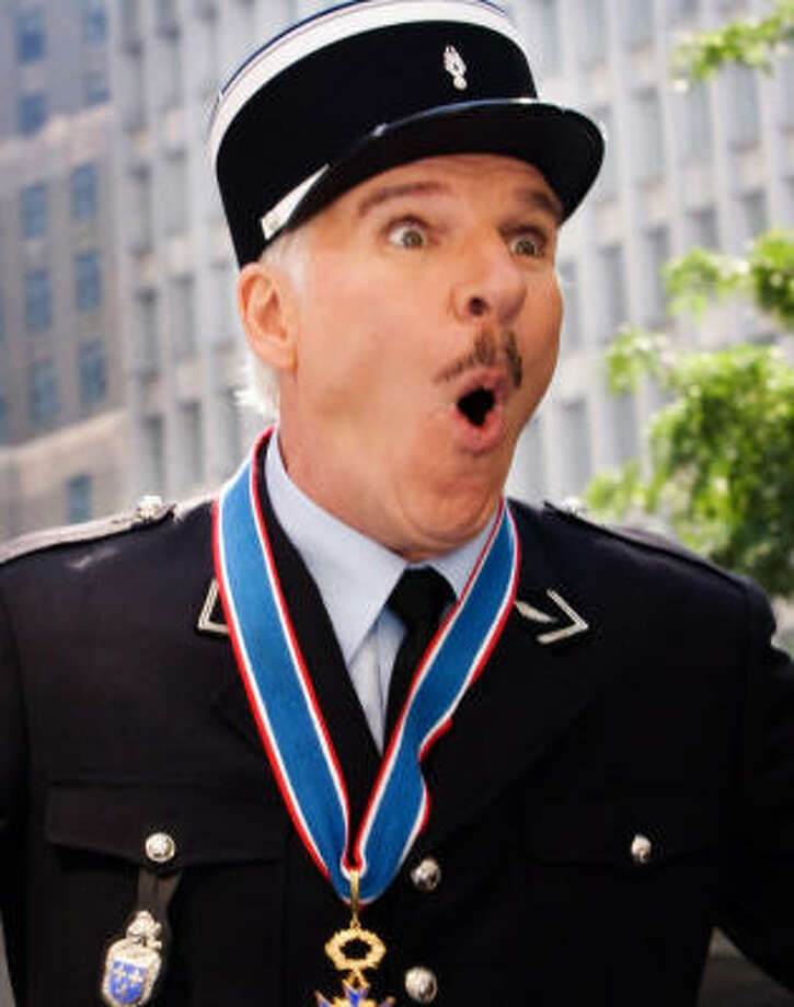 Steve Martin reprises his role as Inspector Clouseau in The Pink Panther 2. Photo: Sony Pictures