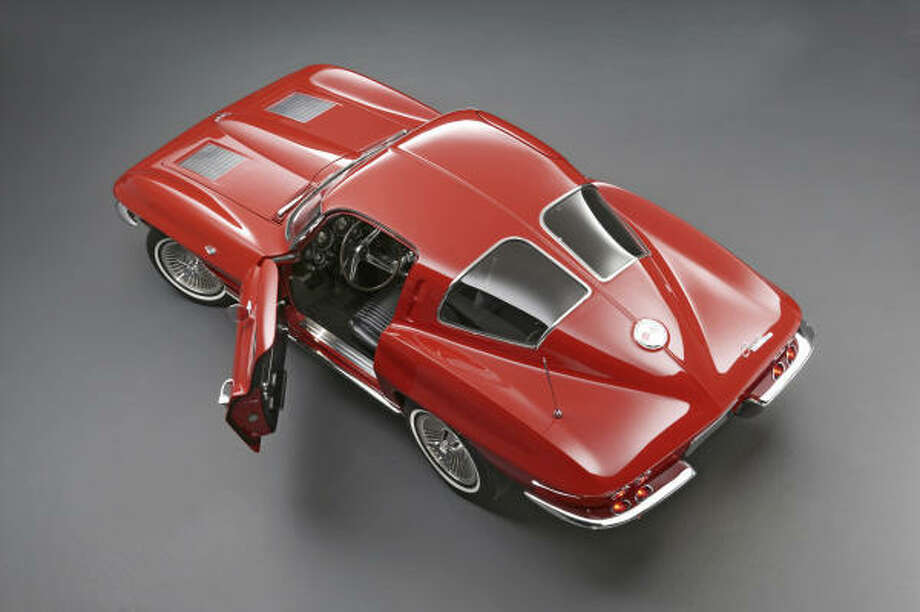 1963 Corvette Sting Ray split-window coupe. Photo: Wieck