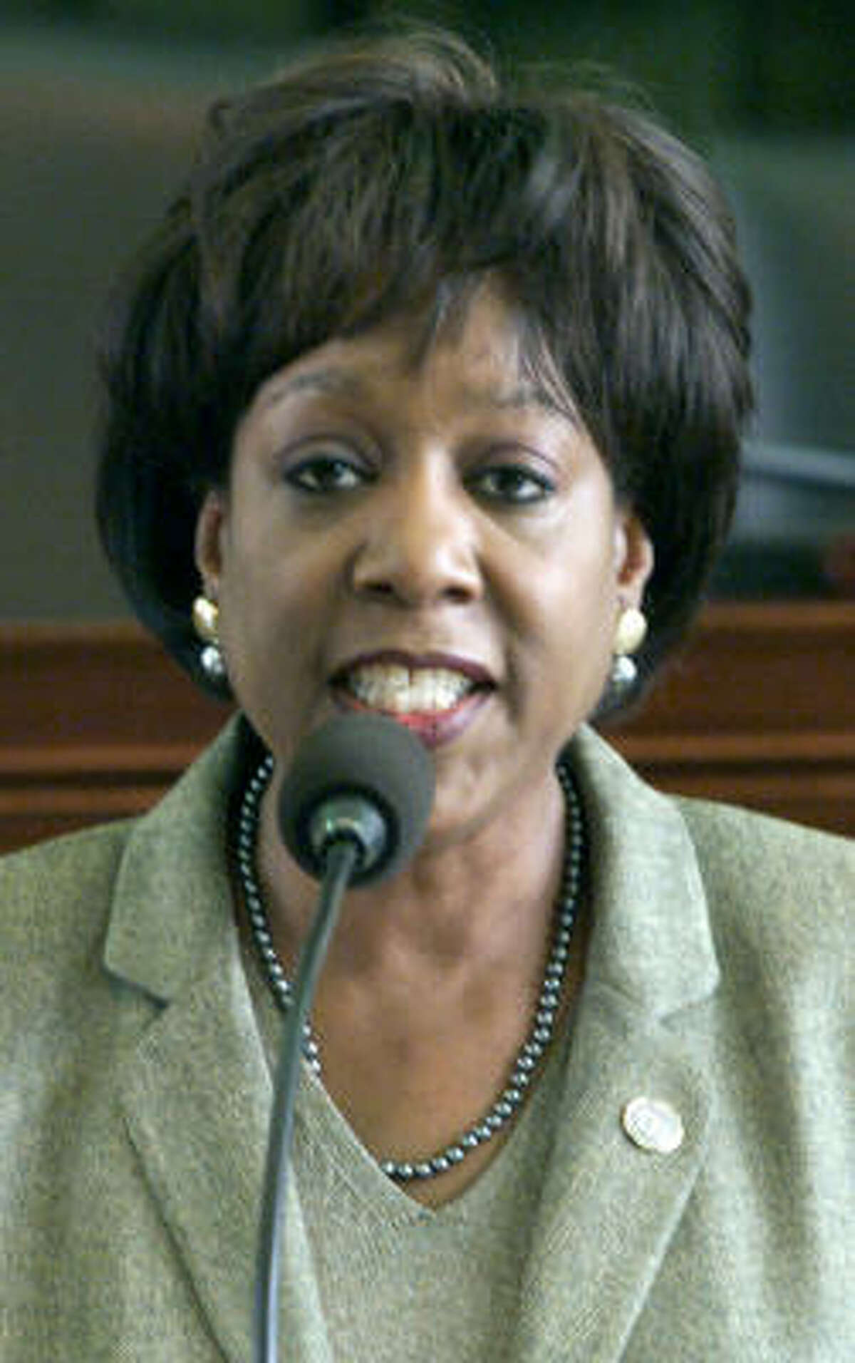 State Rep. Ruth Jones McClendon, D-San Antonio, suffered the most advanced stage of lung cancer, which spread to her brain.