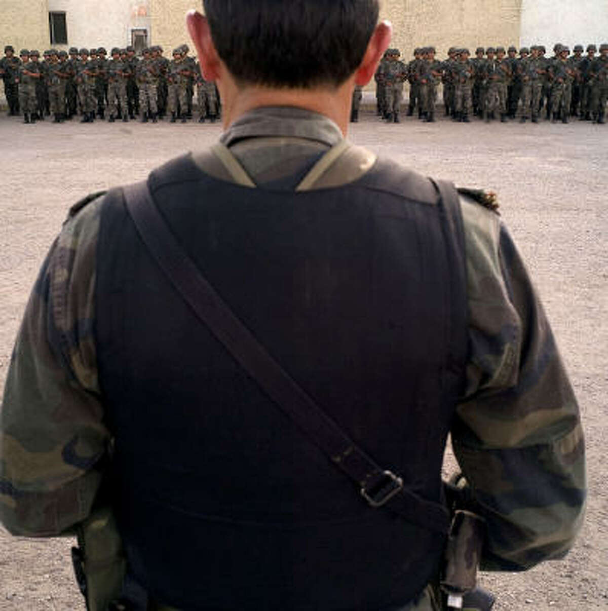 The nearly 10,000 Mexican soldiers and police patrolling Ciudad Juarez do little to stem the violence.