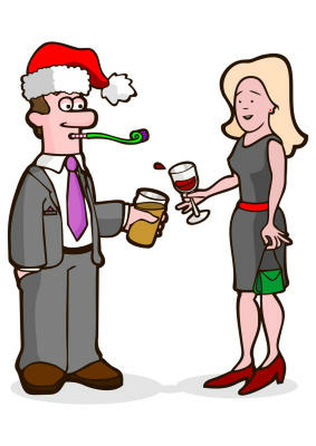 Make sure your date won't clash with your boss at the company Christmas party.