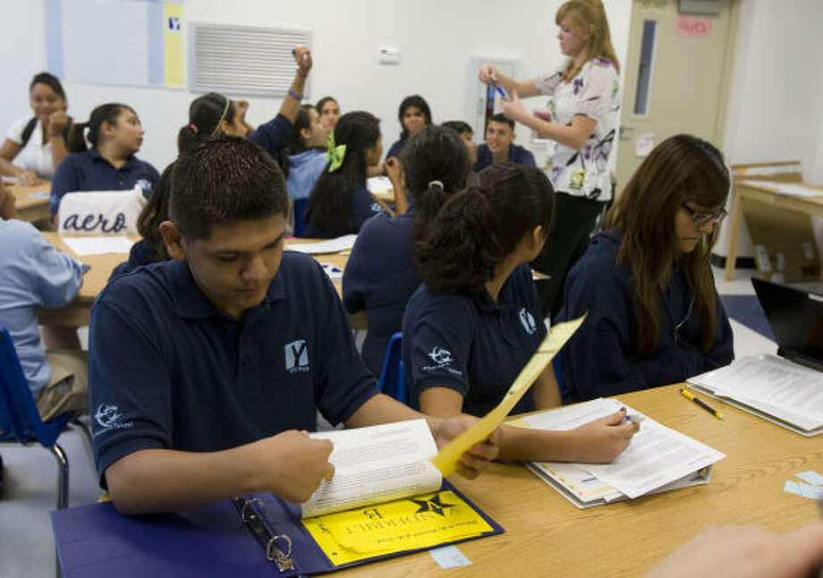YES Prep - East EndGrade: A-Graduation rate: n/aSource: Niche Photo: James Nielsen, Chronicle