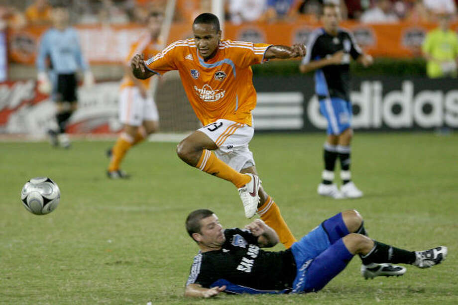 Ricardo Clark may have played his final game for the Dynamo. Photo: Thomas B. Shea, MLS Via Getty Images