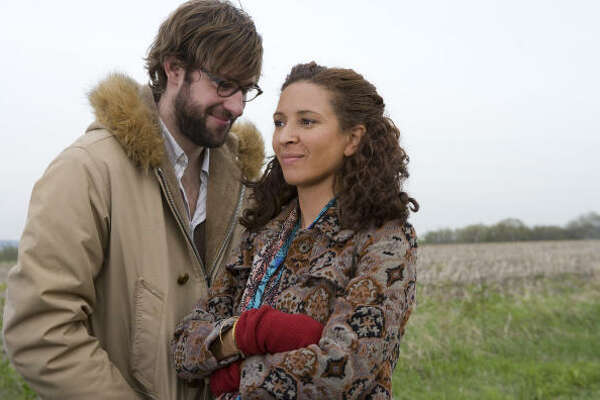 John Krasinski stars as Burt and Maya Rudolph plays Verona in Away We Go.
