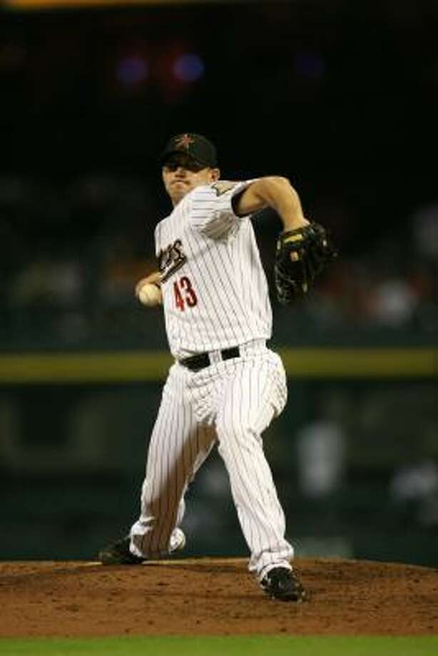 In 41 appearances, Chris Sampson has posted a 4-1 record and 3.01 ERA this season. Photo: Mayra Beltran, Chronicle