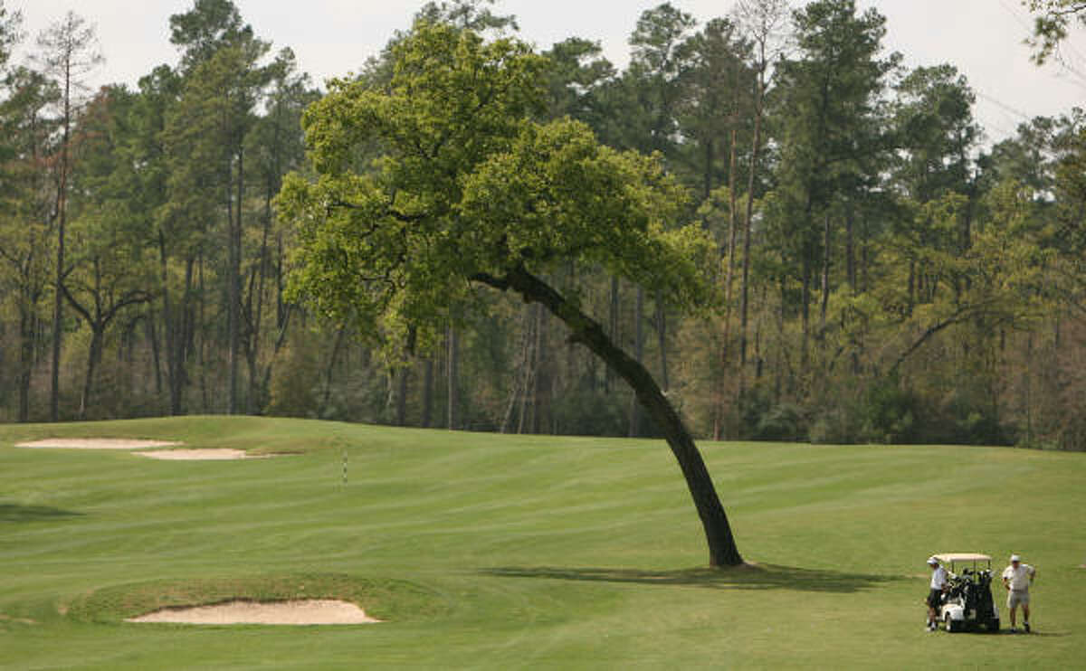 14. Cypresswood Golf Club Current greens fee: $59 (Mon.-Thurs.); $73 (Fri, Sun.); $79 (Sat., Holidays) Address: 21602 Cypresswood Drive, Spring, TX